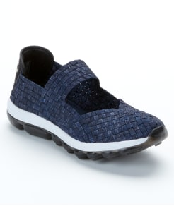 bernie mev. Gummies Charm Woven Stretch Athleisure Shoes