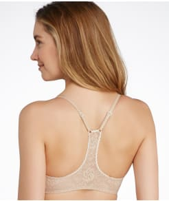 b.tempt'd by Wacoal Full Bloom Front-Close T-Back Bra