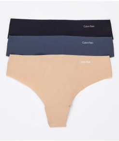 Calvin Klein Invisibles Thong 3-Pack