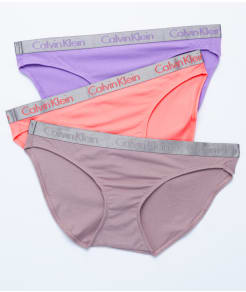 Calvin Klein Radiant Cotton Bikini 3-Pack
