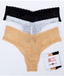 Cosabella Trenta Low Rise Thong 3-Pack