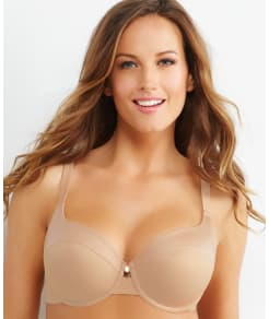 Curvy Couture Matte and Shine T-Shirt Bra