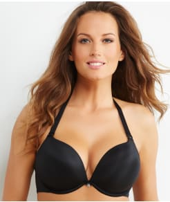 Curvy Couture Perfect Plunge Push-Up Convertible T-Shirt Bra