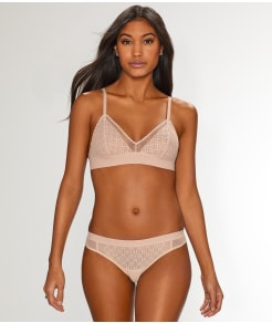 DKNY Sheer Lace Bralette