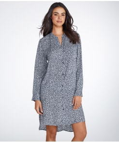 DKNY Boyfriend Woven Sleep Shirt