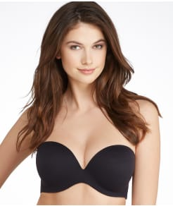 Fine Lines Memory Foam Strapless Push-Up Bra