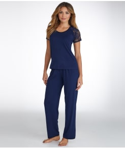 Flora by Flora Nikrooz Knit Pajama Set