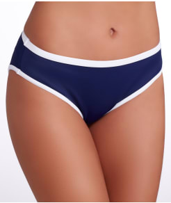 Freya In The Navy Hipster Swim Bottom
