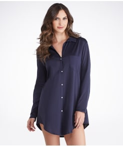 Hanro Cotton Deluxe Boyfriend Sleep Shirt