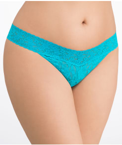 Hanky Panky Signature Lace Original Rise Thong Plus Size