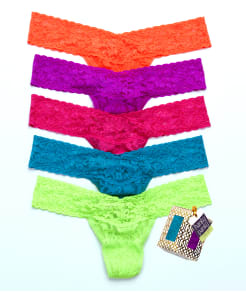 Hanky Panky Holiday Low Rise Thong 5-Pack