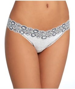 Hanky Panky Heather Jersey Original Rise Thong