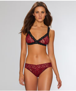 Hanky Panky Holiday Check Bralette