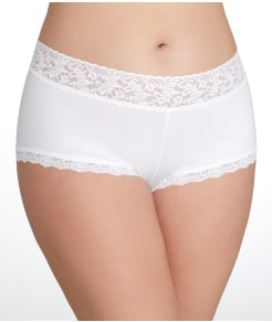 Hanky Panky Cotton Boyshort Plus Size