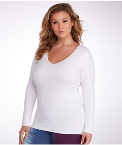 Hard Tail Long Tee Plus Size