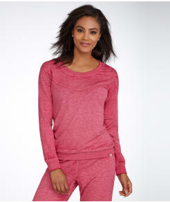 Honeydew Intimates Burnout French Terry Knit Sweatshirt