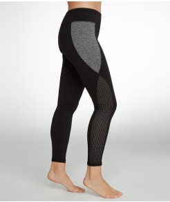 HUE Mesh Panel Active Leggings