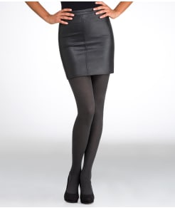 HUE Super Opaque Control Top Tights