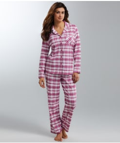 Karen Neuburger Frosty Garden Girlfriend Knit Pajama Set