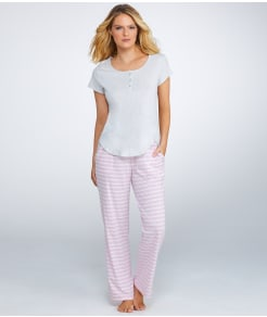 Karen Neuburger Early Bloom Knit Pajama Set