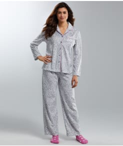 Karen Neuburger Fleece Girlfriend Pajama Set