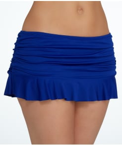 La Blanca Island Goddess Skirted Swim Bottom