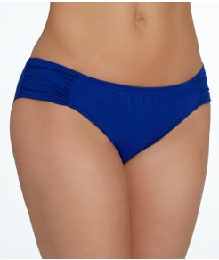 La Blanca Island Goddess Shirred Hipster Swim Bottom