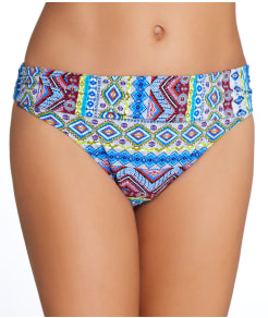 La Blanca Tapmastery Banded Bikini Swim Bottom
