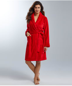 Lauren Ralph Lauren Hartford Lounge Shawl Collar Knit Robe