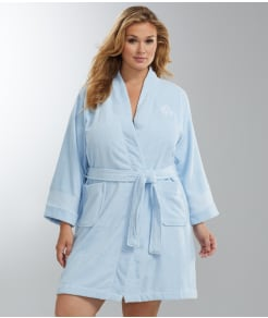 Lauren Ralph Lauren Greenwich Terry Robe Plus Size