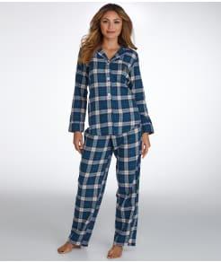 Lauren Ralph Lauren Twill Woven Pajama Set