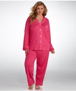 Lauren Ralph Lauren Hammond Knits Pajama Set Plus Size