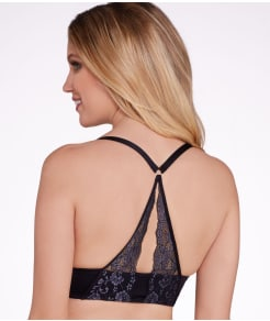 Lily of France Sensational Lace Front-Close Push-Up Bra