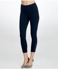 Lyssé Medium Control Cuffed Denim Cropped Leggings