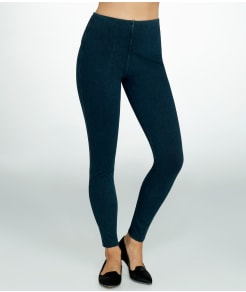 Lyssé Medium Control Noho Denim Zip Leggings