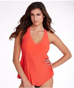 Magicsuit Solids Taylor Wire-Free Tankini Top