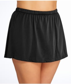 Maxine of Hollywood Solid Skirted Swim Bottom