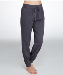 Midnight by Carole Hochman Woven Lounge Pants