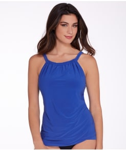 Miraclesuit Solid Shoreline  Tankini Top