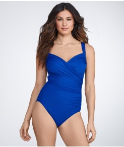 Miraclesuit Sanibel Solid Swimsuit DD-Cups