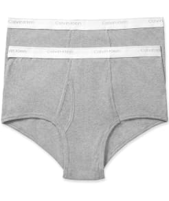 Calvin Klein Big & Tall Brief 2-Pack