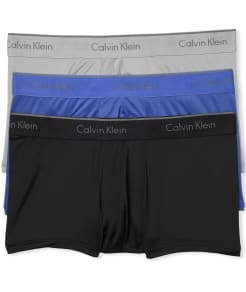 Calvin Klein Microfiber Low Rise Trunk 3-Pack