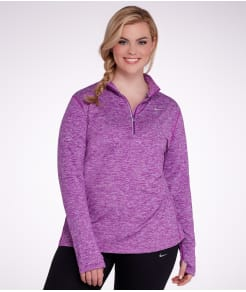 Nike Element Dri-FIT Half-Zip Pullover Plus Size