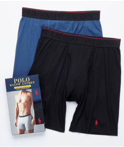 Polo Ralph Lauren Supreme Comfort Long Boxer Brief 2-Pack