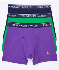 Polo Ralph Lauren Classic Cotton Knit Boxer Brief 3-Pack