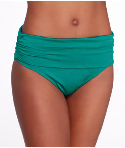 Pour Moi Azure Fold-Over Swim Bottom