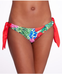 Pour Moi Jungle Fever Tie-Side Swim Bottom