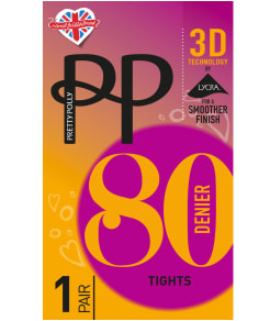 Pretty Polly 3D Technology Opaque Tights