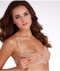 Rosie Pope Nursing Lace Wire-Free Bra