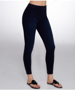 SPANX Cropped Indigo Denim Leggings